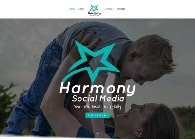 Photography by Stuart Bailey Media for Harmony Social Media Website