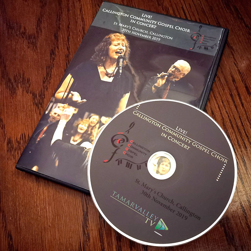 Callington Gospel Choir DVD